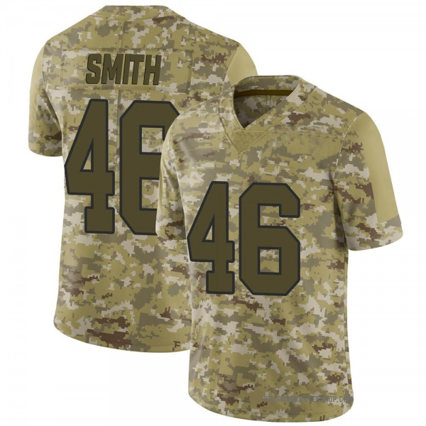 Maurice Smith Washington Redskins Limited Camo 2018 Salute to Service Jersey