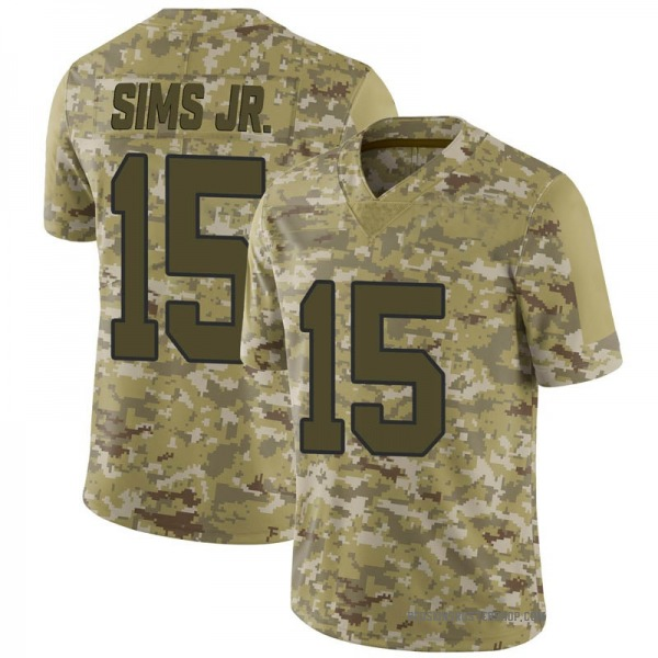 Steven Sims Jr. Washington Redskins Limited Camo 2018 Salute to Service Jersey